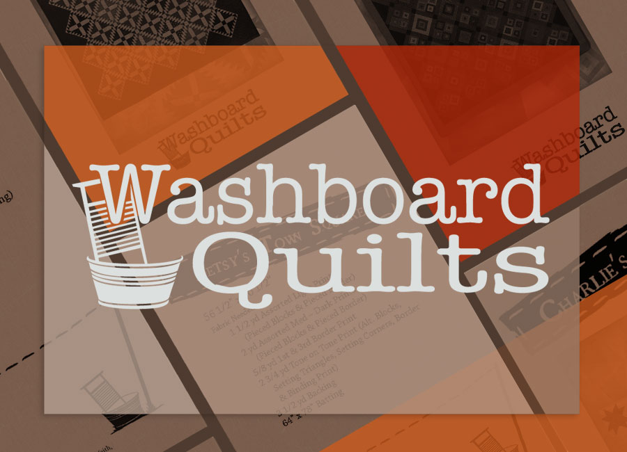 Washboard Quilt Logo and Packaging | Designed by Brooke Rogers