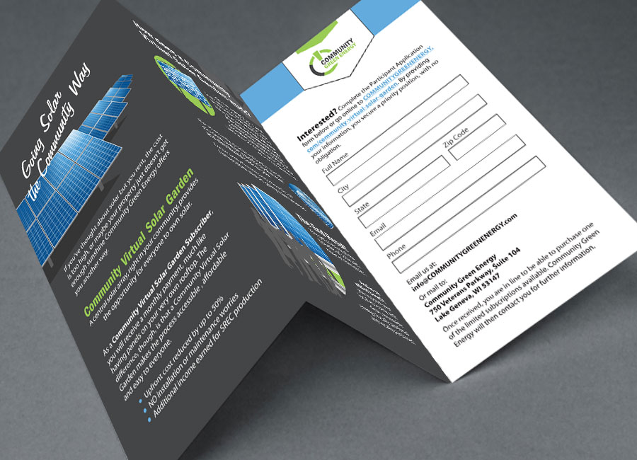 Solar Participant Brochure | Designed by Brooke Rogers